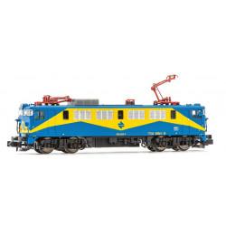 "Electric locomotive RENFE 269, ""Mazinger""."