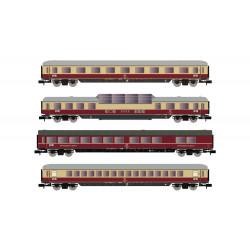 Set of coaches ''TEE Rheinpfeil''', DB.