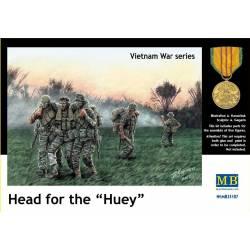 "Vietnam, Head for the ""Huey""."