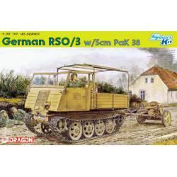 German RSO/3 w/5cm PaK 38. DRAGON 6684