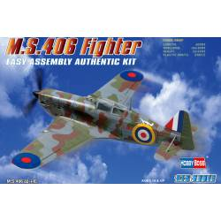French MS.406 Fighter. HOBBY BOSS 80235