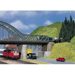 Puente de celosía. FALLER 120534