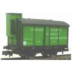 """Foudre wagon """"H. Guillot""""."""