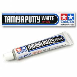White-colored putty.