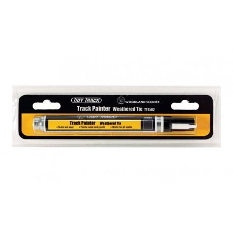 Track Painter - Weathered Tie. WOODLAND TT4582