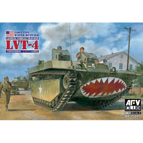 U.S. Water Buffalo LVT-4. Early type. AFV CLUB 35205