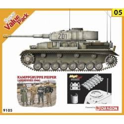 Set Panzer IV Ausf.J + Kampfgruppe Peiper. DRAGON 9105