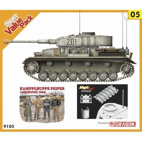 Set Panzer IV Ausf.J + grupo de combate. DRAGON 9105