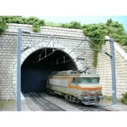 Tunnel entrance. PN SUD MODELISME 8716