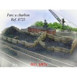 Depósitos de briquetas y foso. PN SUD MODELISME 8725