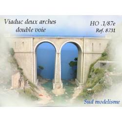 Viaducto de piedra. PN SUD MODELISME 8731