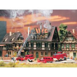 House on fire. VOLLMER 47738