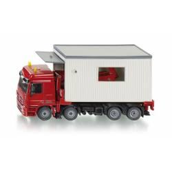 Camión con garaje desmontable. SIKU 3544
