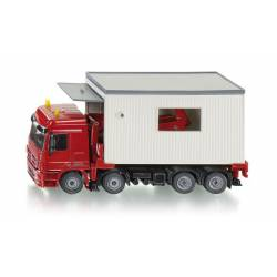 Truck with removable garage. SIKU 3544