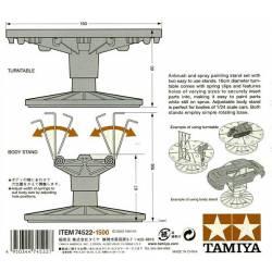 Painting stand set. TAMIYA 74522