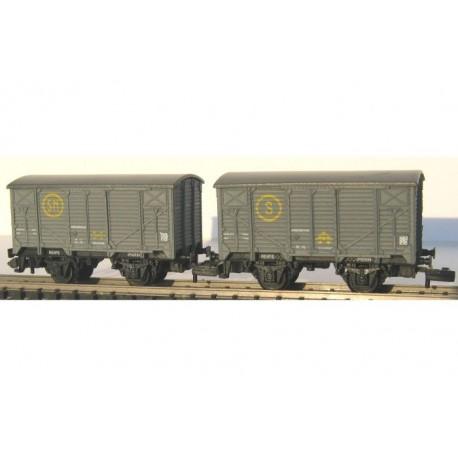 Dos vagones unificados Sindicato de la Naranja. KTRAIN 1755A
