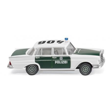 Coche de policia. WIKING 086426