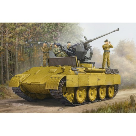 German panther ausf.D flak bergepanther. HOBBY BOSS 82492