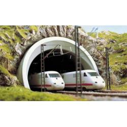 Boca de túnel de doble vía. BUSCH 8195