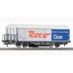 Vagón limpiavías. ROCO 46400