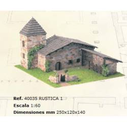 Rustic 1. DOMUS KITS 40035