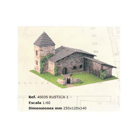 Rústica 1. DOMUS KITS 40035