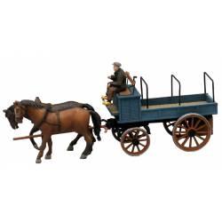 Hombre con carro. ARTITEC 387.63. Modelo montado