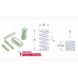 Muelle 2,2 x 5,0 mm (x10). RB 068-03