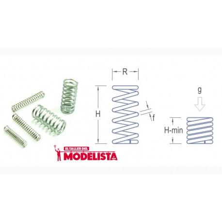 Muelle 1,5 x 5,7 mm (x10). RB 068-05