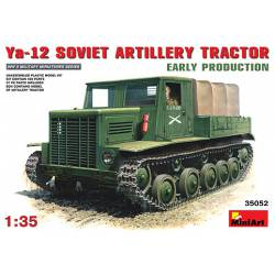Ya-12 soviet artillery tractor (early production). MINIART 35052