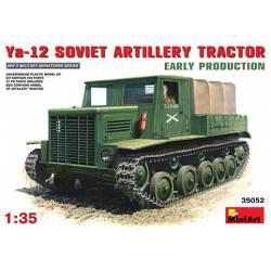 Ya-12 soviet artillery tractor (versión inicial). MINIART 35052