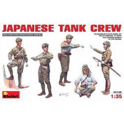 Carristas japoneses en combate.