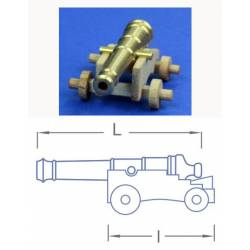Naval cannon, 26 mm (4 pieces).