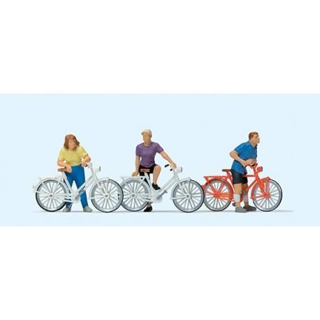 Ciclistas. PREISER 10637