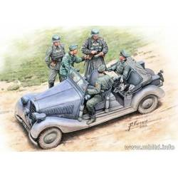 German military car. MASTER BOX 35112