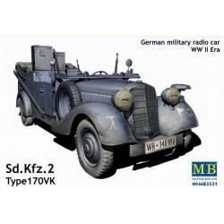 Vehículo modelo 170 VK. MASTER BOX 3531