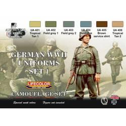 Set 1 Uniformes Alemanes WWII.