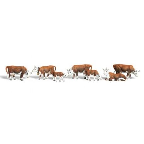 Vacas. WOODLAND SCENICS A1843