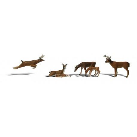 Ciervos. WOODLAND SCENICS A1884