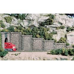 Muro de contención de piedra. WOODLAND C1161