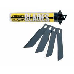 Foam knife blades.