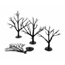 Troncos de árboles, 70-130 mm. WOODLAND SCENICS TR1122