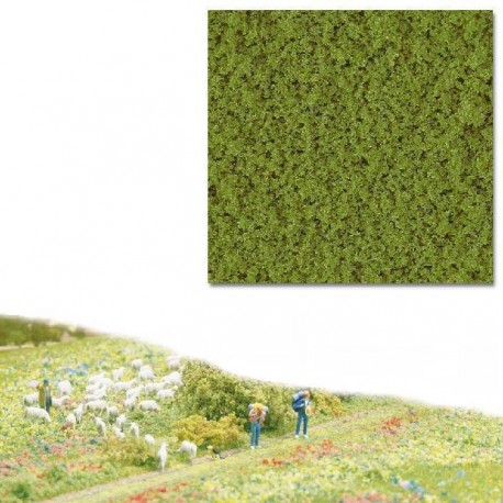 Flocado grueso verde primavera. BUSCH 7331