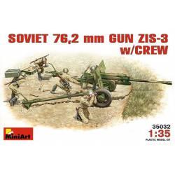 Cañón de campo ZIS-3 de 76,2mm. MINIART 35032