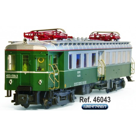 UT-300, green livery, RENFE. IBERTREN 46043