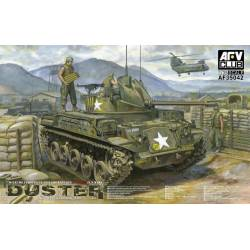 M42A1 self-propelled anti-aircraft gun late type. AFV CLUB 35042