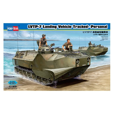 LVTP-7 Landing vehicle tracked-personal. HOBBY BOSS 82409