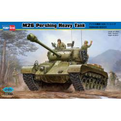 M26 Pershing heavy tank.