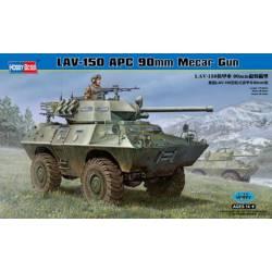 LAV 150 APC 90 mm Mecar gun.