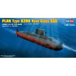 PLAN Type 039A Yuan class submarine. HOBBY BOSS 83510